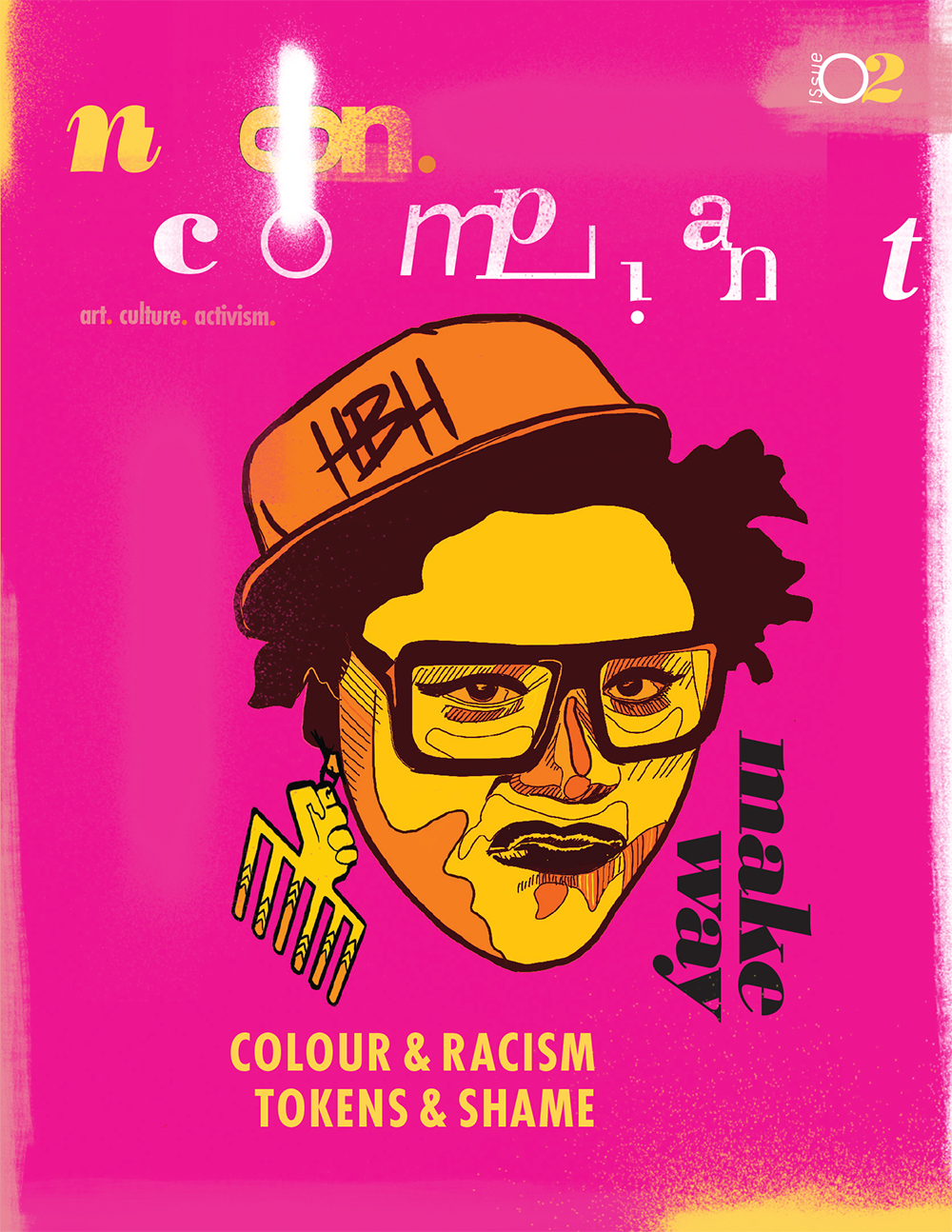 Non-compliant ISSUE02 - colours & racism, tokens & shame